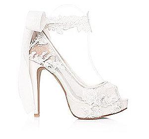 Grace魅力雙設計婚鞋・RS150228(Ivory)