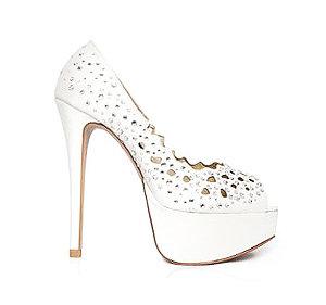 Jennifer水鑽派對鞋・RS140107(Ivory)