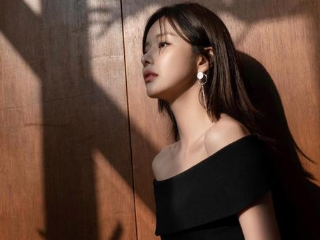 韓國手工婚鞋Iro Style x 氣質爆表 #韓寶凜 #한보름 穿著Iro style的洋裝和鞋款👗👠 美麗不言而喻~