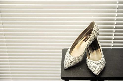水鑽璀璨平底鞋・RS150812