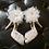 Thumbnail: 珍珠雪紡花飾・IA170118(Ivory)