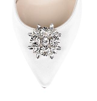 菱形復古鑽飾・IA160909(Silver)