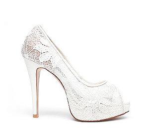 Elly向日葵蕾絲婚鞋・GS130722