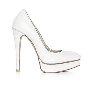 Natalie尖頭高跟婚鞋・RS150814(Ivory)