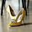 Thumbnail: Jolie施華洛世奇奢華宴會鞋・RS180518(Yellow)