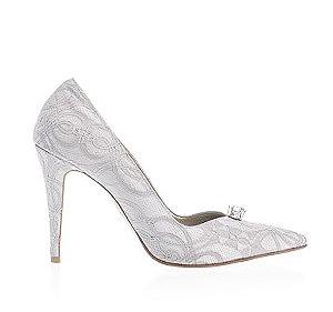 Dianna蕾絲宴會鞋・RS160812 (Gray)