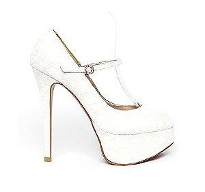 Merry復古蕾絲瑪莉珍高跟鞋・GS131124