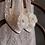 Thumbnail: 魅力雪紡玫瑰花飾・IA171215 (Ivory)