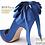 Thumbnail: POPI時尚藍尖頭高跟鞋・GS130512