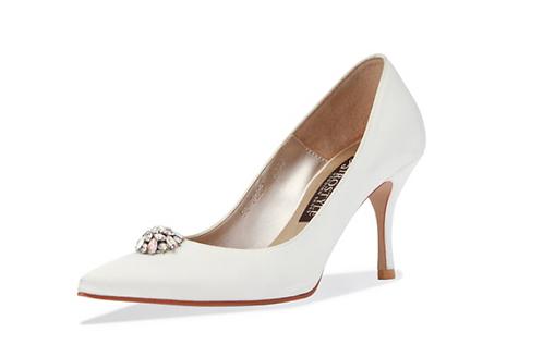 Blossom 施華洛世奇小水鑽宴會鞋・RS190410(Ivory)