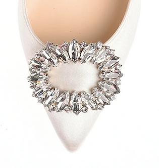 水珠環狀鑽飾・IA160720(Silver)