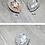 Thumbnail: 經典水滴鑽飾・IA130227(Gold & Silver)