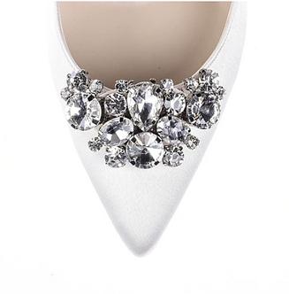 三角圖騰亮麗鑽飾(銀色)・IA141111(Silver)