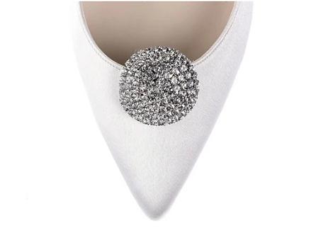 華麗圓扣鑽飾・IA130510(Silver)