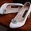 Thumbnail: 優雅閃亮橢圓形鑽飾・IA171211 (Silver)