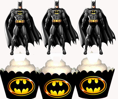 Superhero Batman Toppers