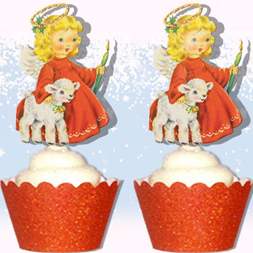 Angel Xmas Toppers
