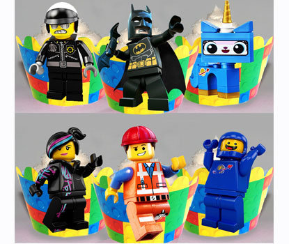 Lego Movie Wraps