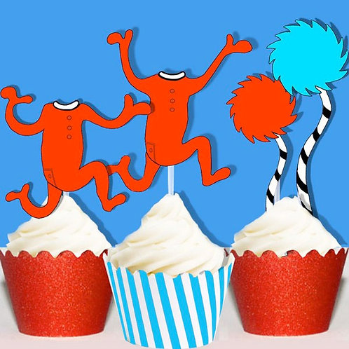 Dr Seuss Icons Toppers