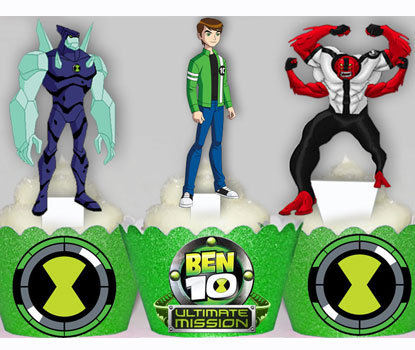 Ben 10 Party Toppers