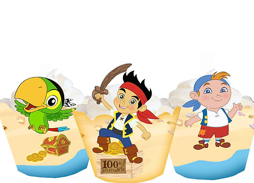 Jake and the Neverland Pirates Party Wraps