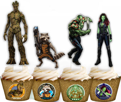 Guardians of the Galaxy Toppers