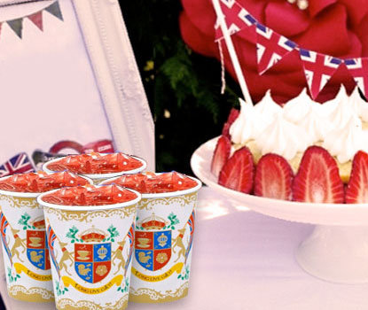 British Party Cups - Pk 12