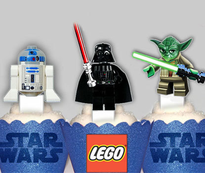 Starwars Lego Toppers