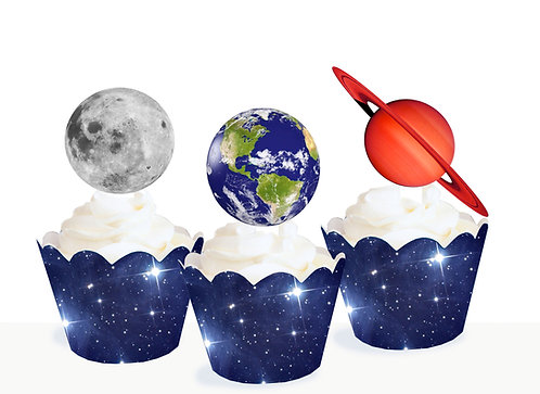 The Planets Space Toppers