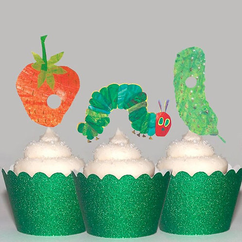 Very Hungry Caterpillar Toppers