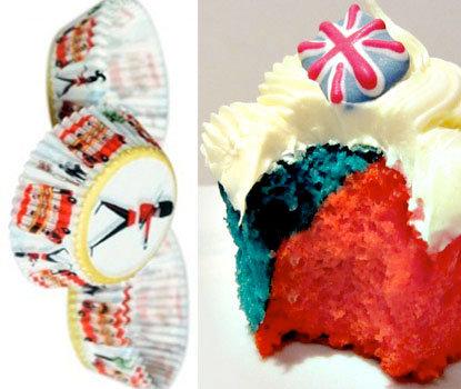 I Love London Cupcakes - Pk 60