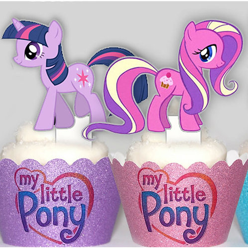 My Little Pony Toppers