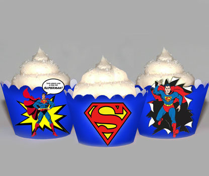 Superman Super Hero Wraps