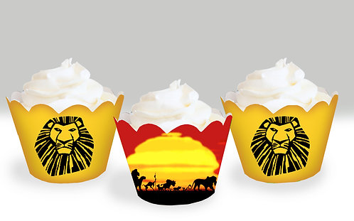 The Lion King Cupcake Wrappers