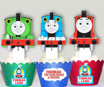 Thomas The Tank Train  Toppers
