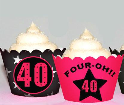 Milestone 40th Four Oh Wraps