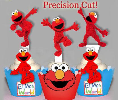 Sesame Street Elmo Toppers