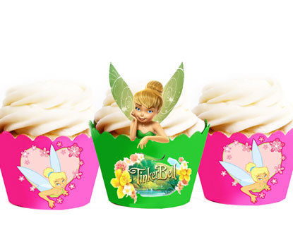 Tinkerbell Cupcake Wrappers