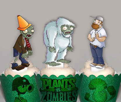 Plants Vs Zombies Toppers
