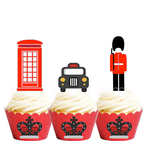 British Icons Party Toppers