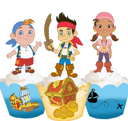 Jake and the Neverland Pirates Toppers