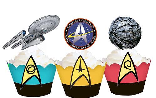 Star Trek Space Toppers