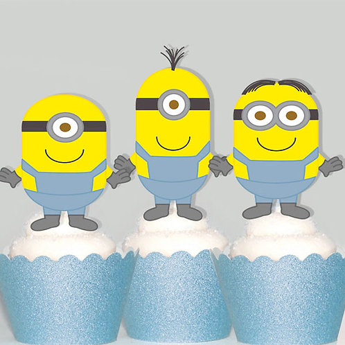 Despicable Me Minion Toppers