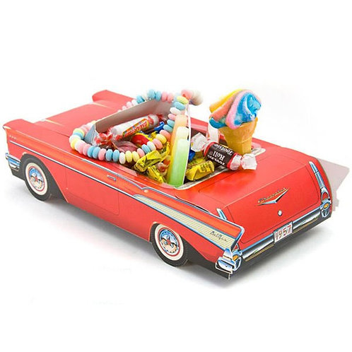 Red 1957 Chevy Bel Air Treat Box