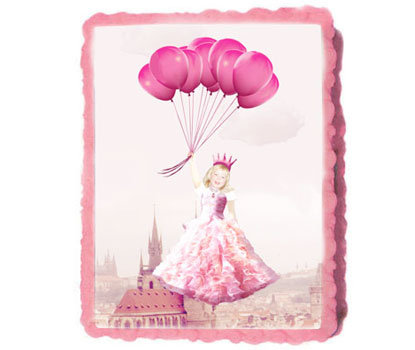Custom Princess Party Icing Sheet