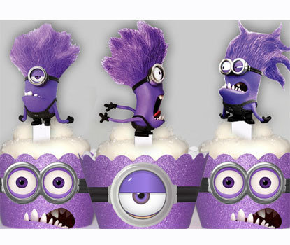 Evil Minions Toppers