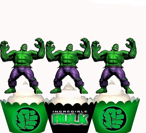 The Incredible Hulk Toppers