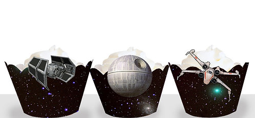 Starwars Death Star Party Wraps