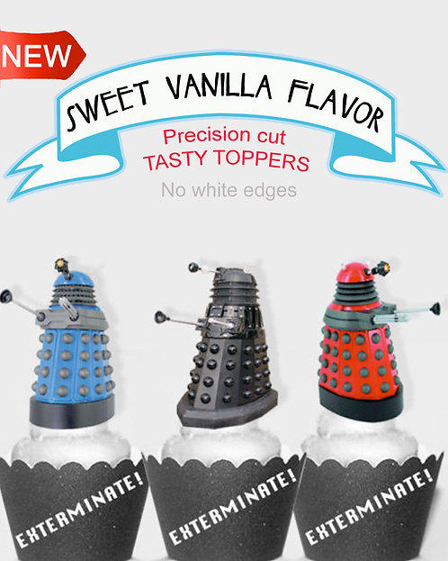 Dr Who Toppers