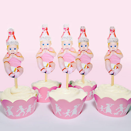 Babys Birthday Toppers